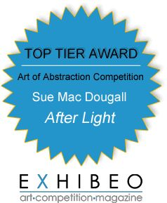 Award received for my work titled: After Light