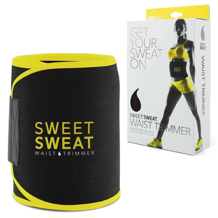 Sweet Sweat Premium Waist Trimmer For Men and Women New Free Shipping #SweetSweat