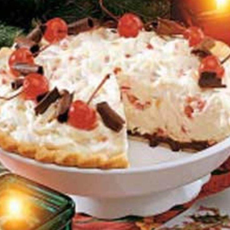 White Christmas Pie.   foods   Pinterest