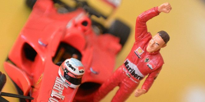 F2001 . Michael Schumacher