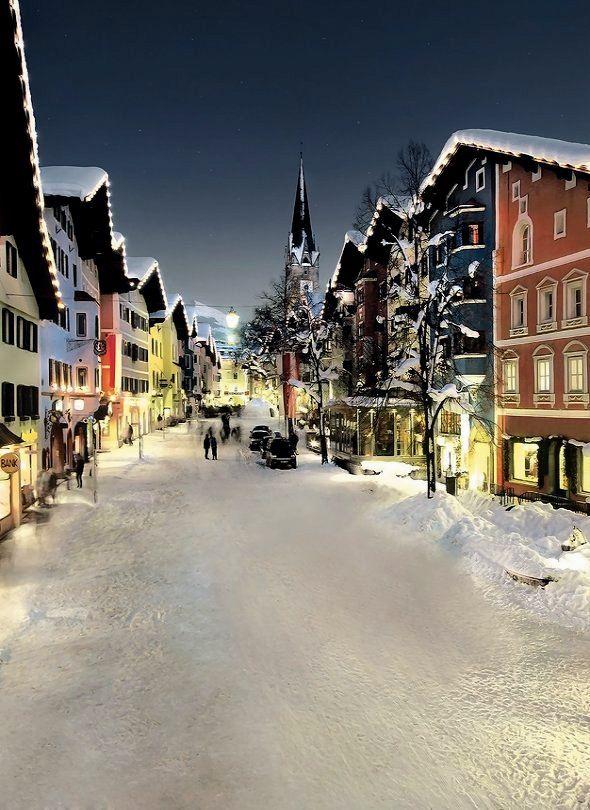 Kitzbühel Old Town, Tyrol, Austria   by kitzmitz