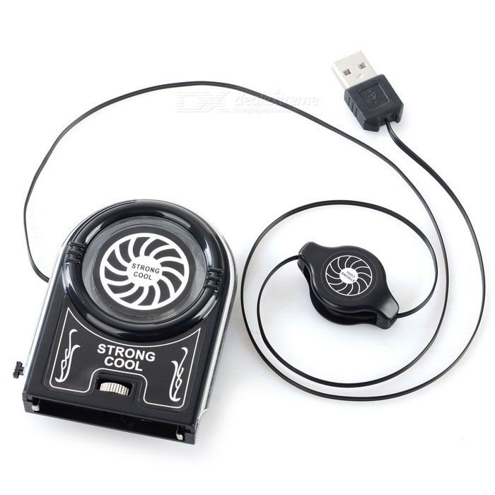 USB 3800rpm 12-Blade Cooling Fan for Laptops - Black From 14,95 for Euro 9,05