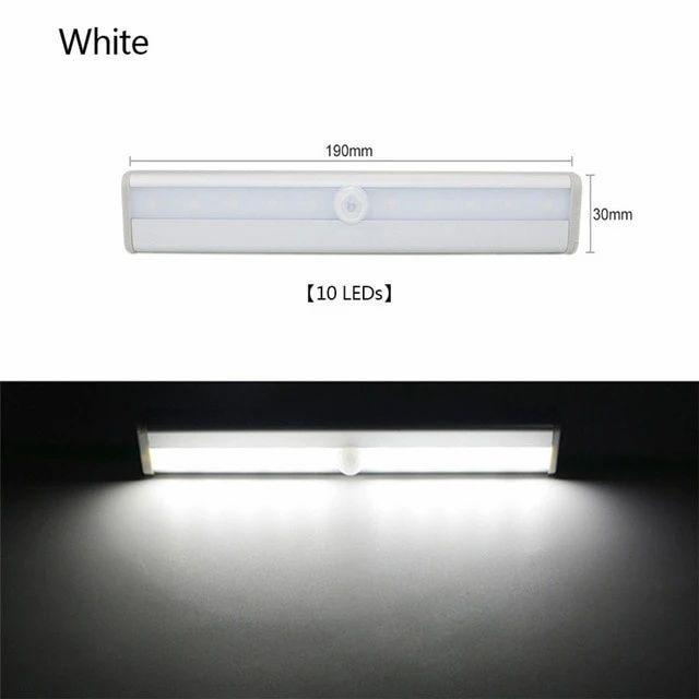 Wireless 10 Led Usb Rechargeable Motion Sensor Light Cool Or Warm White In 2020 Motion Sensor Lights Led Closet Light Light Sensor
