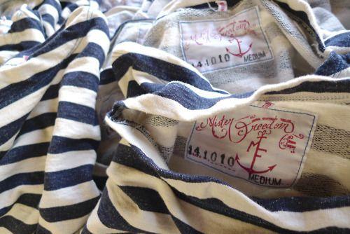 .: Anchors, Innovation Style, Nautical Stripes, Men Style, Menstyle, Stripes Shirts, Blue Stripes, Mister Freedom, Modern Hepburn
