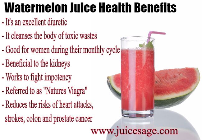 Watermelon Juice Health Benefits & Facts