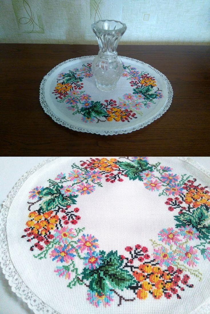 25 unique oval tablecloth ideas on pinterest tablecloth diy custom tablecloths and crochet - Decoration au crochet ...