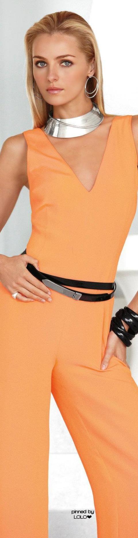 Valentina Zelyaeva for Ralph Lauren Casual in Summer Peach, 2015  http://georgiapapadon.com/