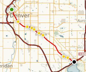 Cherry Creek Trail Map