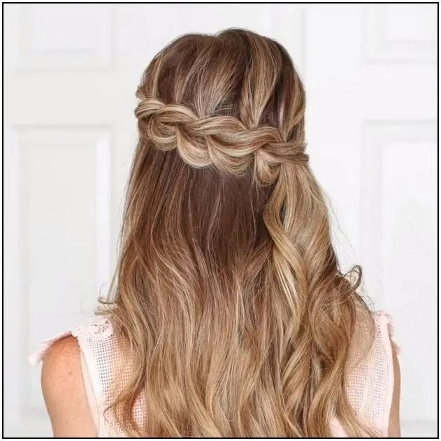 113 fall half up hairstyles page 21 | Armaweb07.com