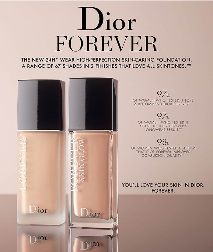 edce6b4618 Dior Forever Skin Glow & Forever Foundations Spring 2019 | Dior ...