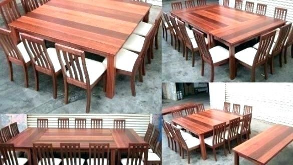dining tables seats 12 square table seats square table