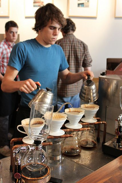 Intelligentsia Chicago-a pour over with Intelligentsia coffee is one of the best cups of coffee I've ever had!