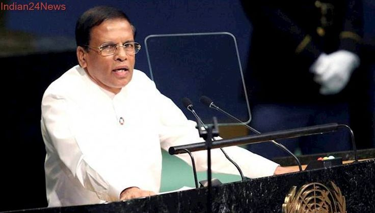 Sri Lanka: Troops who committed warcrimes at behest of politicians would be punished, says President Sirisena