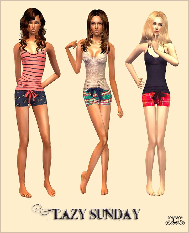 Caizas Sims 2 Downloads: FASHION   Adult