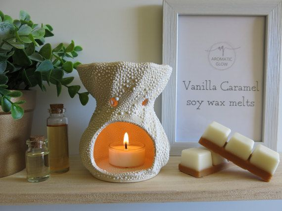 Vanilla and Caramel Fragrance Soy Wax Melts Soy by AromaticGlow