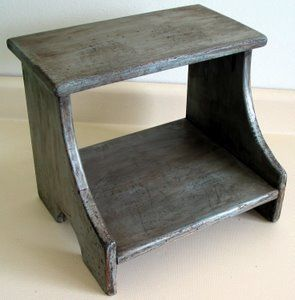 Make Wood Step Stool Then Paint Or Varnish