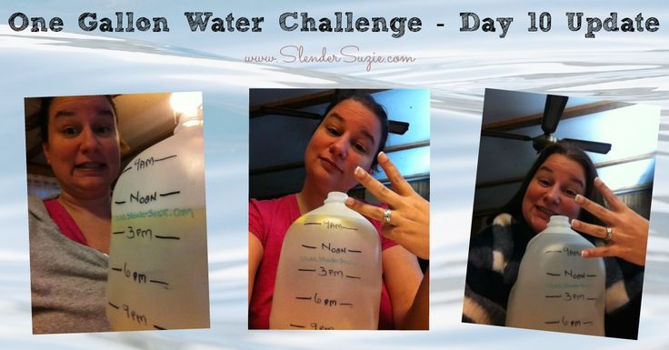 how to drink one gallon of water in a day