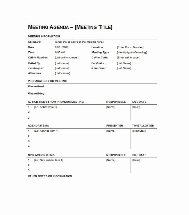 Agenda With Time Slots New Simple Meeting Agenda Template Sample Featuring Agenda Template Meeting Agenda Meeting Agenda Template