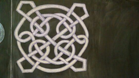 Celtic knot - 4th grade form drawing