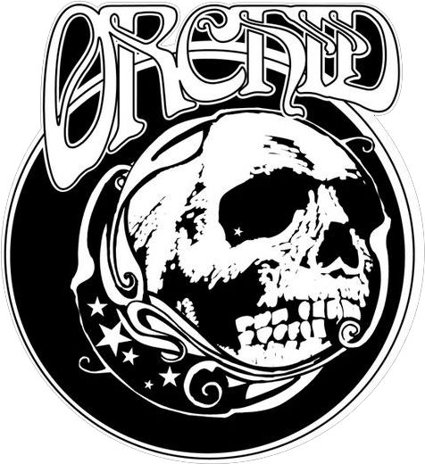 Logo for doom metal band orchid