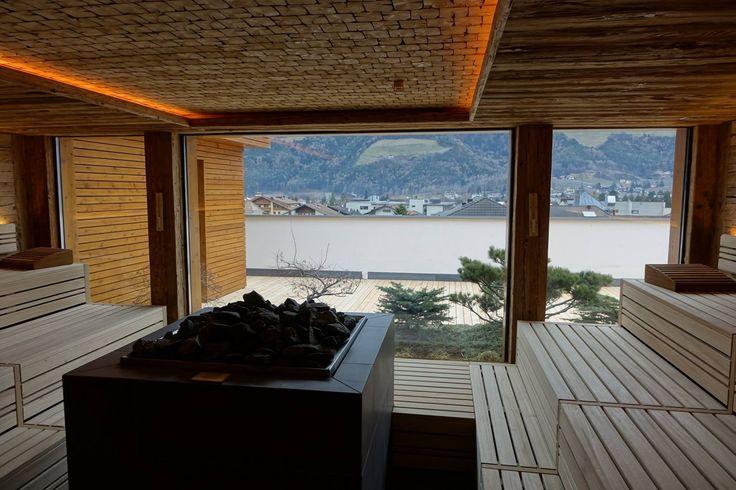 Die neue Sky Spa auf dem Dach des DolceVita Hotel Feldhof