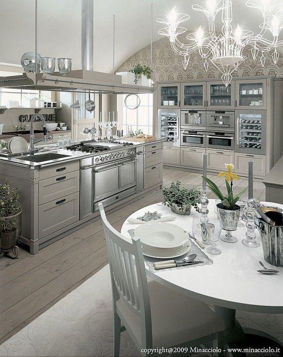 167 best una cucina da vivere images on Pinterest Home - shabby chic küchen