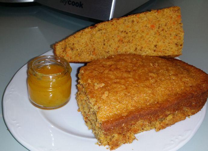 Bizcocho de zanahoria y nueces. para #Mycook http://www.mycook.es/receta/bizcocho-de-zanahoria-y-nueces