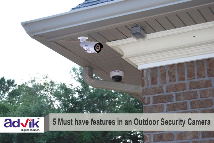 5 Must have features in an Outdoor #SecurityCamera !!! #outdoorsecurity #cameras are vital part of any security camera design. Outdoor #security cameras are important to capture the first sign of intrusion and hence there are many features that must be taken into consideration while choosing an outdoor security camera. To know more about these key features read here. http://bit.ly/1VHnNTv