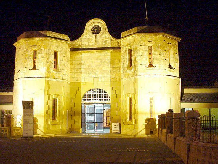 Freemantle prison, - very interesting to take a tour. Australia