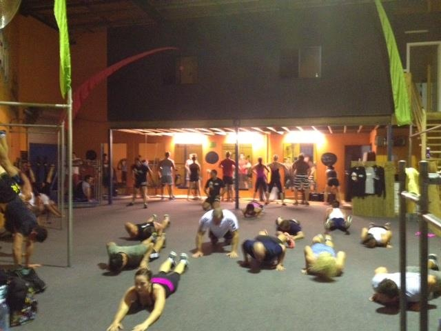 Bodyweight training @ The Zuu, Burleigh