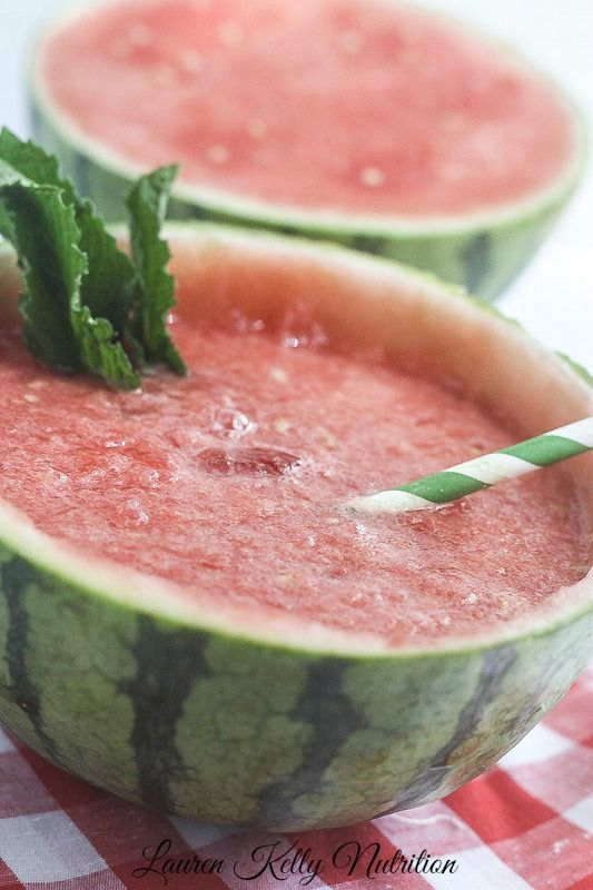 Watermelon Mint Slush