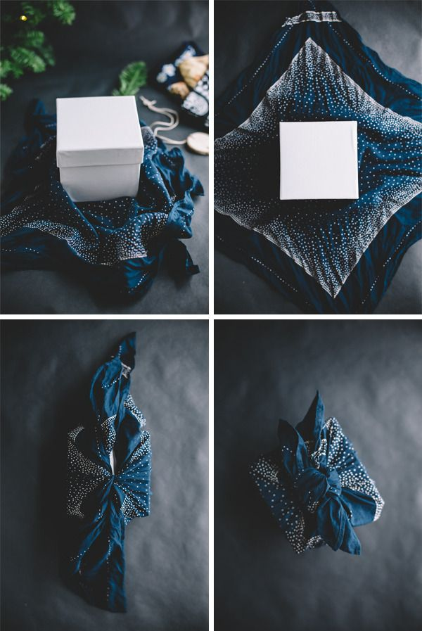This Japanese tradition has gift wrapping figured out. 1) Get a handkerchief. 2) Wrap your gift in it. #Done
