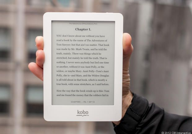Kobo Glo via @CNET  Did I just found my new ereader?