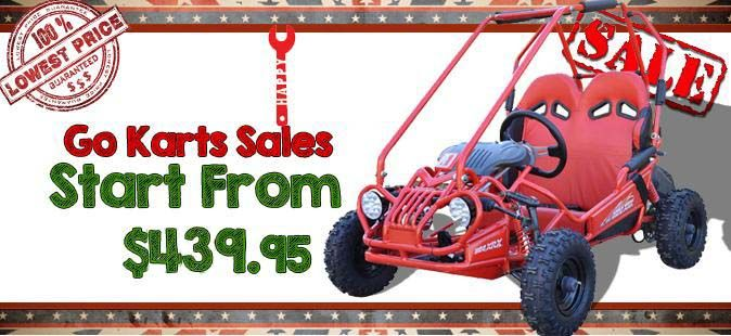 Enjoy the utility and comfortable power of 110cc Go kart for entertainment purpose.