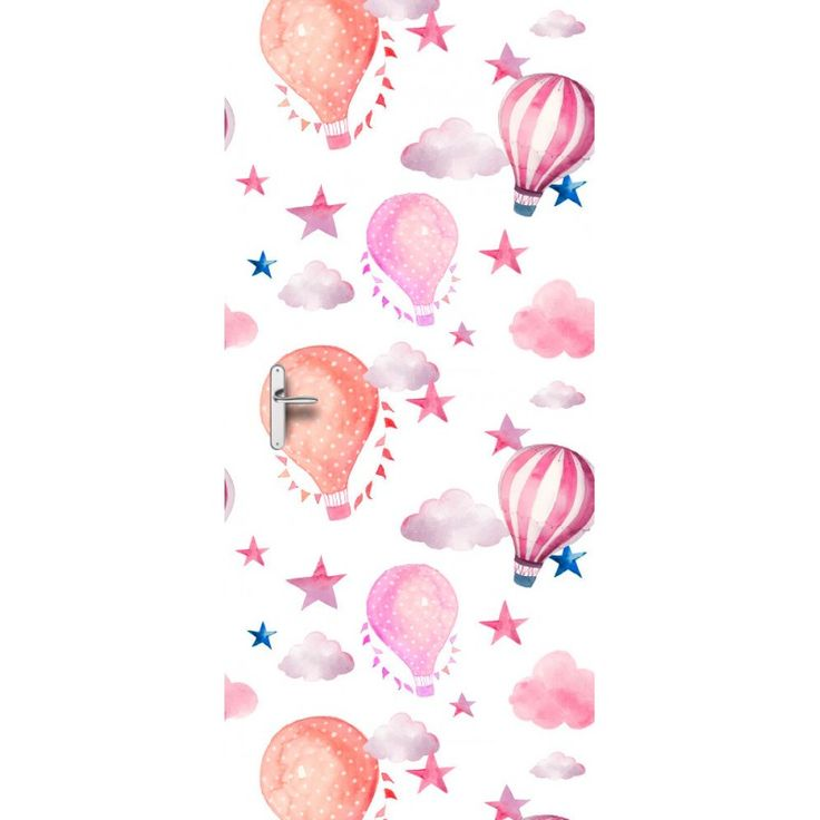 Deursticker Luchtballon   Een deursticker is precies wat zo'n saaie deur nodig heeft! YouPri biedt deurstickers zowel mat als glanzend aan en ze zijn allemaal weerbestendig! Verkrijgbaar in verschillende afmetingen.   #deurstickers #deursticker #sticker #stickers #interieur #interieurprint #interieurdesign #foto #afbeelding #design #diy #weerbestendig #baby #babykamer #meidenkamer #meisjeskamer #roze #oranje #verf #kunst #art #illustratie #luchtballon #ballon #wolken #sterren