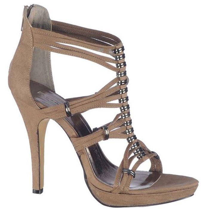 Sandale cu platforma si toc,pentru femei marca Mojito Fete: textil Interior: piele naturala Toc: 12 cm