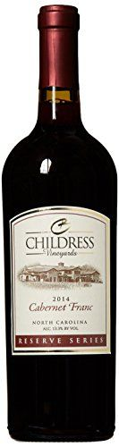 2014 Childress Vineyards Reserve Series North Carolina Cabernet Franc 750 mL ** Click on the image for additional details. http://www.amazon.com/gp/product/B01F91T5PA/?tag=wine3638-20&pst=300916192446
