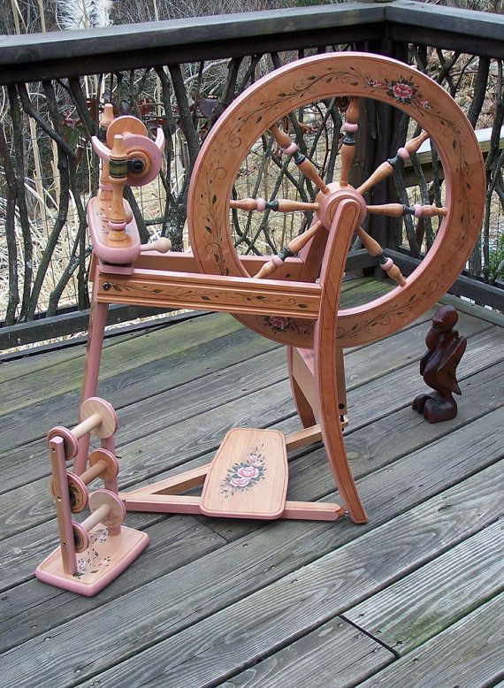 Painted Ashford Traditional wheel...for the low low price of $1300.00!! Don't delay!