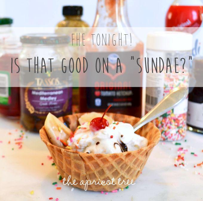 Love this FHE idea on the Sabbath Day Observance