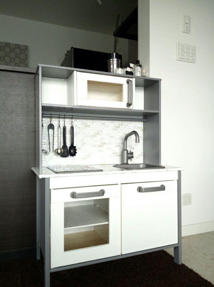 Diy Ikeaままごとキッチン キッチン おままごとキッチン ままごと