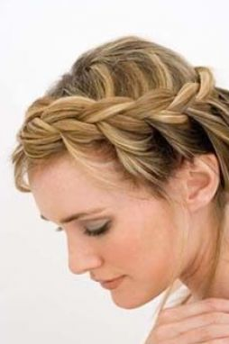 simple updos for medium hair | Cute easy updos for medium length hair pictures 2