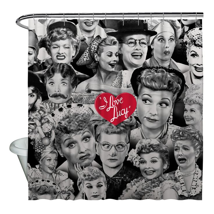 Faces Of Lucy Shower Curtain Available At For 79 95 I Love