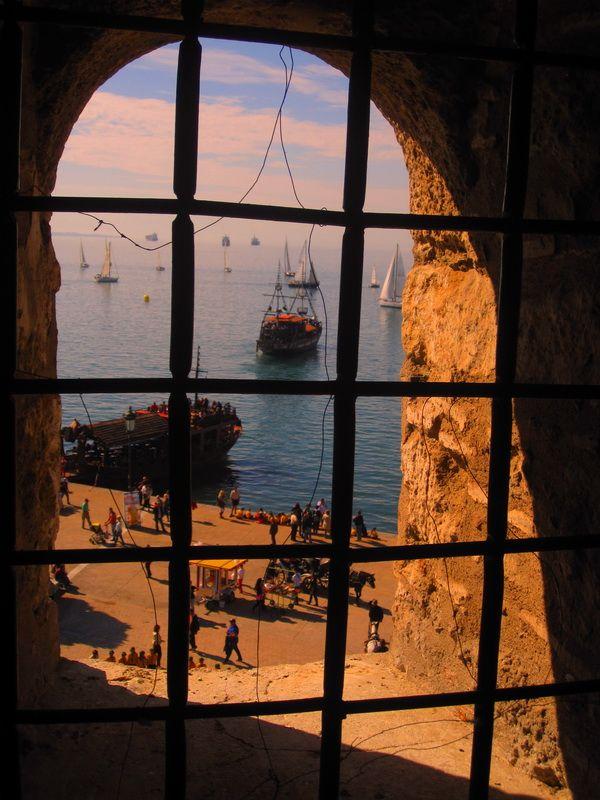 Maria Kostaki2 Thessaloniki..from inside the White Tower.