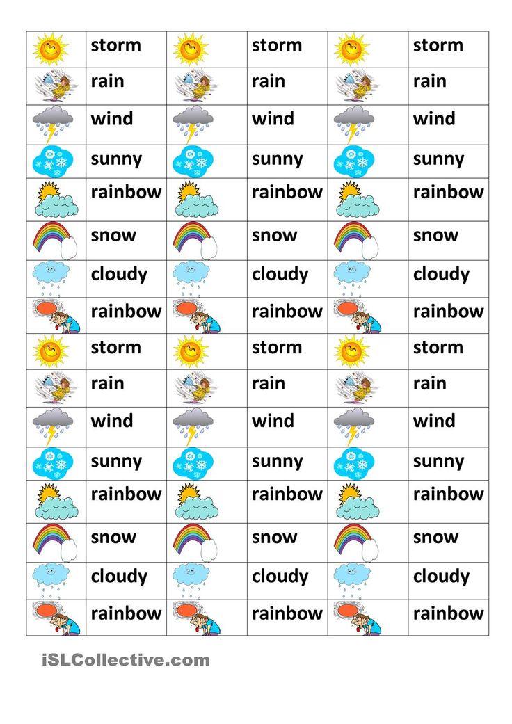 weather test esl worksheets of the day pinterest weather student centered resources and. Black Bedroom Furniture Sets. Home Design Ideas