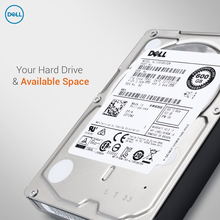 A HDD (hard disk drive) nearing capacity means it can take longer for your OS to boot, installed software takes longer to load, and the perception that the system is running slower.  Remember to defragment your HDD on a regular basis and remove unneeded software if your drive is getting close to being full.  #DellTips