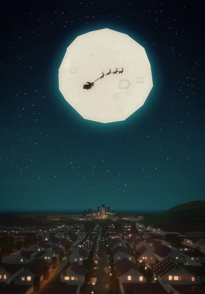 Christmas - Santa by Pascal Campion *