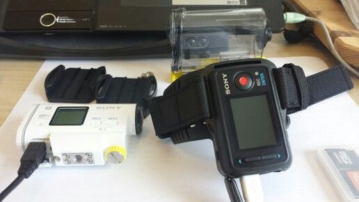 Our new Sony action cam