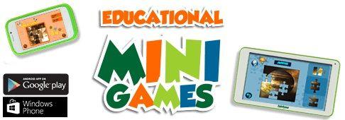 Já conhecem os Educational Mini Games da Science4you? Esta aplicação tem como objetivo estimular e potenciar as capacidades cognitivas das crianças, especificamente a memória e o vocabulário.