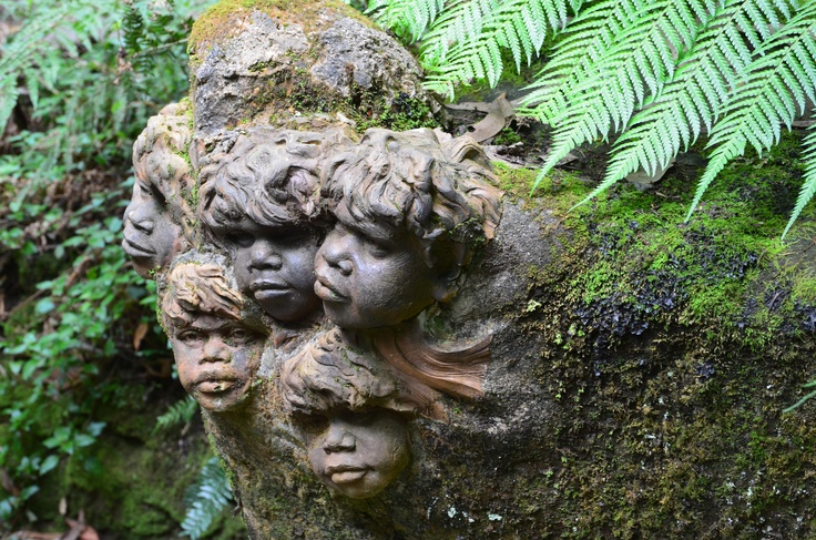 Sculpture at william ricketts sanctuary in mount dandenong