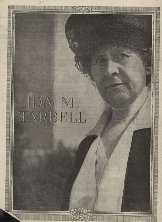 "The Eloquent Woman: Famous Speech Friday: Ida Tarbell's 1916 ""Industrial idealism"""